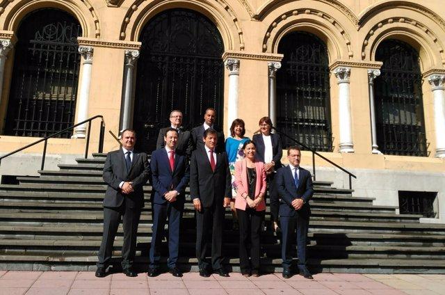 Foto del equipo de Gobierno.