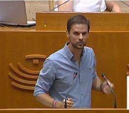 Alvaro jaén en el debate