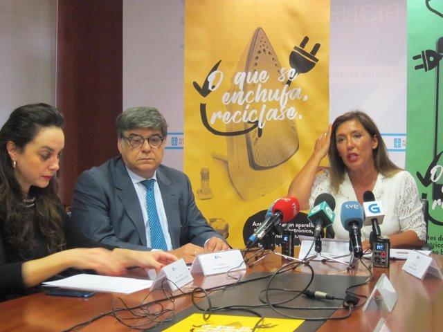 Beatriz Mato presenta una campaña de reciclaje