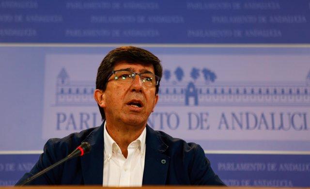 Juan Marín, este miércoles