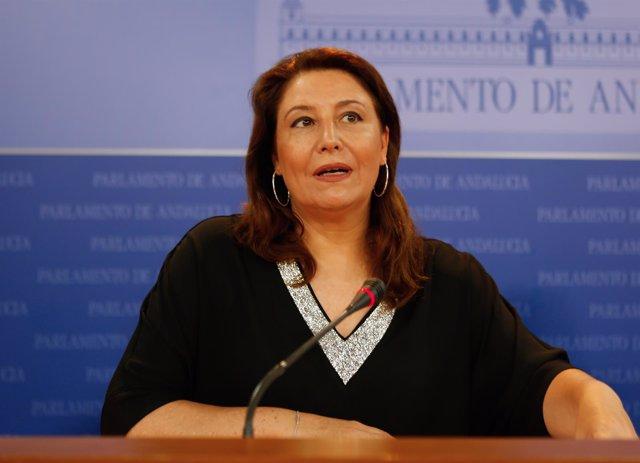 Carmen Crespo, hoy ante los medios