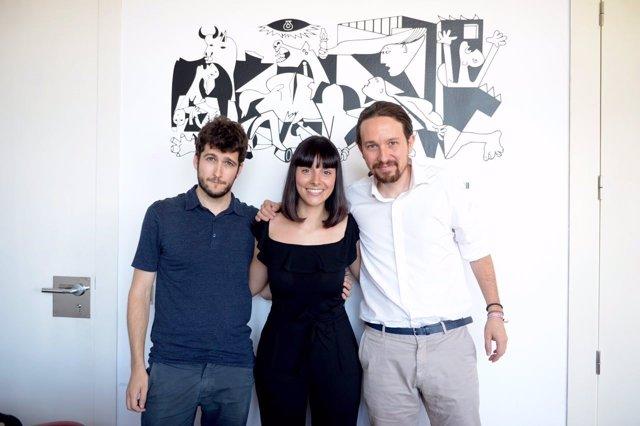 Reunión de Antonio Estañ y Pablo Iglesias