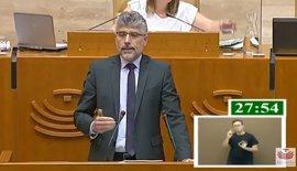 """El PSOE invita a los partidos, """"especialmente"""" a Podemos, a """"defender juntos"""" el desarrollo de Extremadura"""