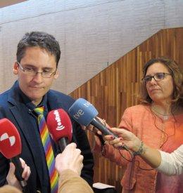 Ignacio Paredero, presidente de la Federación LGTBi+ de Castilla y León