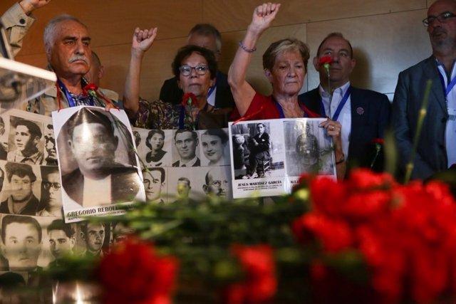 Homenaje luchadores antifranquistas