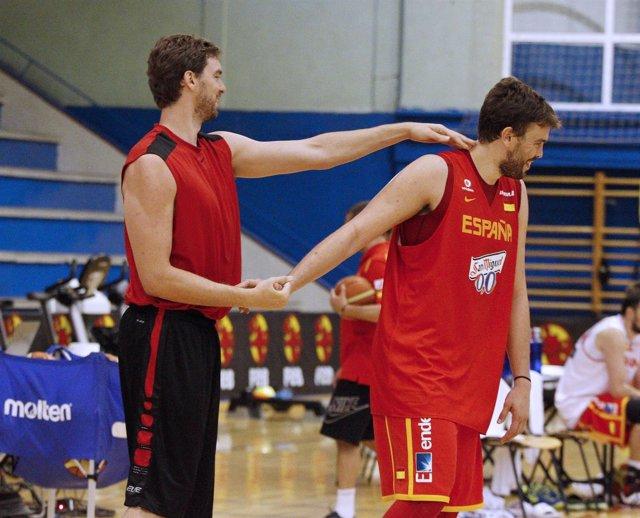 Pau y Marc Gasol