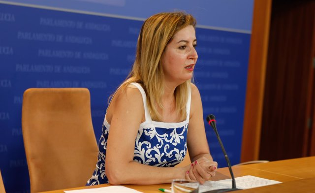 La Portavoz Adjunta De Podemos Andalucía, Carmen Lizárraga