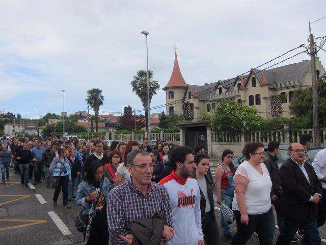 Foto: Marcha Asesinado San Juan