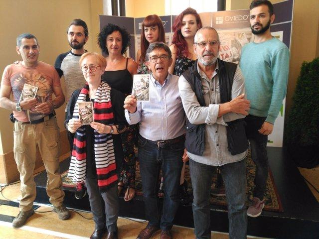 Presentación visitras teatralizadas al Campoamor.