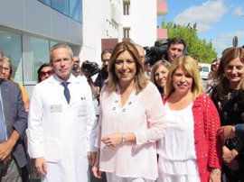 Susana Díaz anuncia la puesta en marcha de las urgencias en el centro de salud La Milagrosa de Jerez