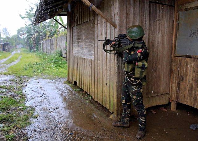 Enfrentamientos en Marawi (Filipinas)