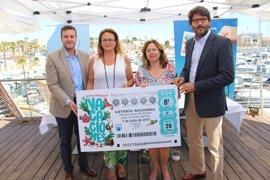 El sorteo extraordinario de vacaciones de la Lotería Nacional se celebrará en San Pedro con el Mar Menor como fondo
