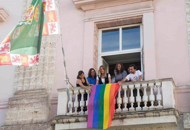 Acto LGTBIQ en la Diputación
