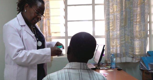 Centro de salud en Nairobi, Kenia
