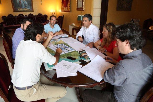 Reunión Diputación y Ayuntamiento de Rota sobre vivienda