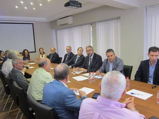 Reunión PP  con Agrupal, FREMM, Proexport, Apoexpa o Arema