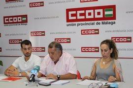 """CCOO Málaga, """"satisfecho"""" con el plan de verano del SAS aunque exige recuperar empleos y un plan de infraestructuras"""