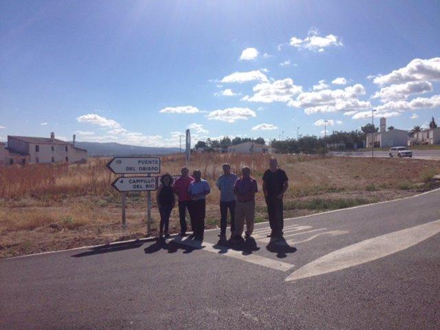 Visita fin de obras entre Vados y Torrequebradilla
