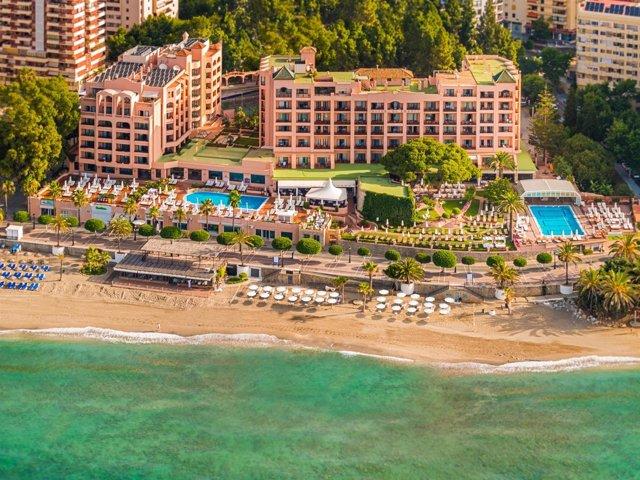 Establecimiento hotelero en Marbella de Fuerte Group Hotels.
