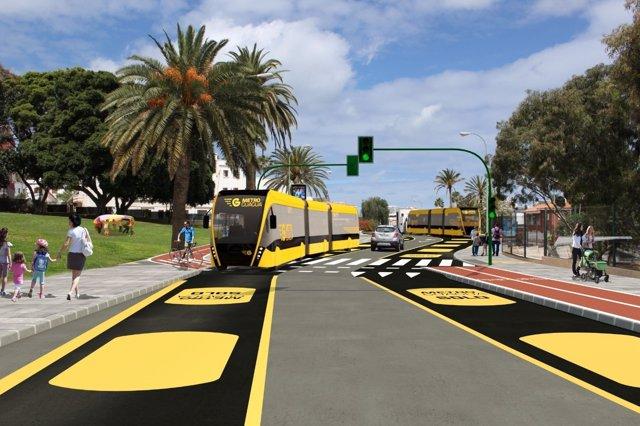 MetroGuagua de Las Palmas de Gran Canaria