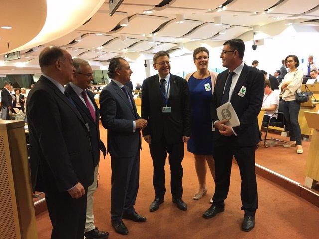 Puig interviene ante el Comité de las Regiones de la UE