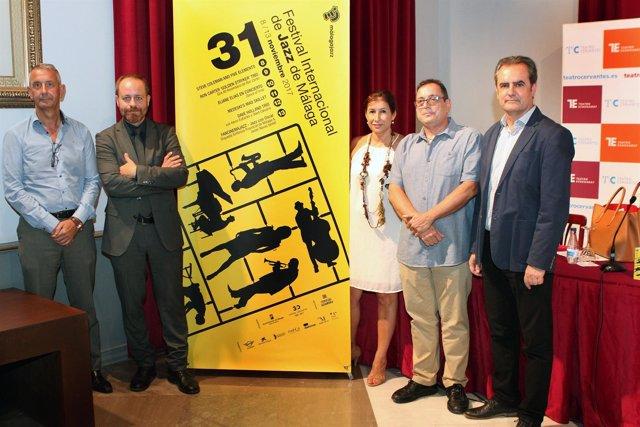Presentación 31 festival jazz málaga internacional