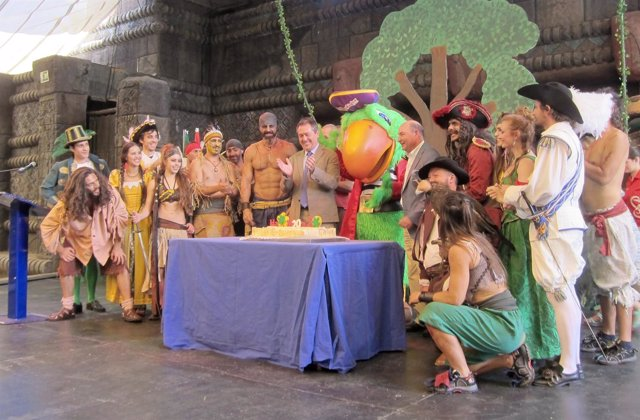 Celebración del 20 cumpleaños de Isla Mágica