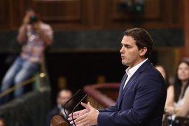"""Rivera celebra que el Rey defienda un """"equilibrio"""" en España entre la diversidad y la unión"""