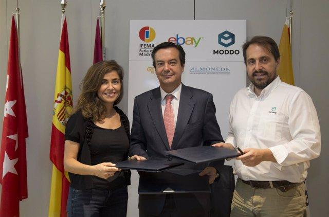 Acuerdo de Ifema con Ebay