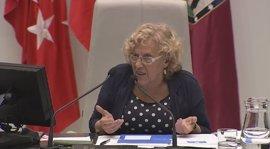 """Carmena sobre Mato y Mayer: """"Cuando hay imputación por delito de corrupción se debe dimitir pero aquí no hay imputación"""""""
