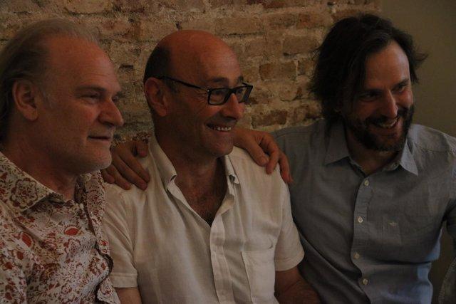 L.Homar, S.Sunyer y P.Miró (Temporada Alta)