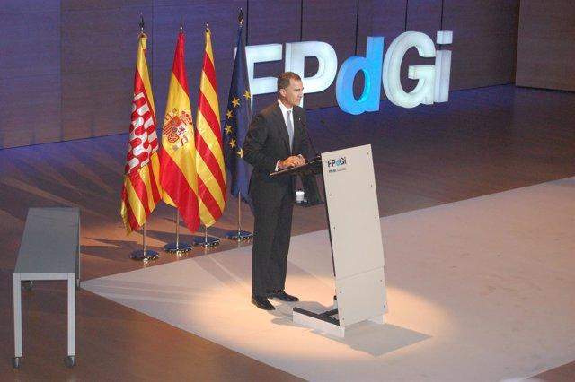 El Rey Felipe VI en la entrega de los Premios FPdeGi 2016
