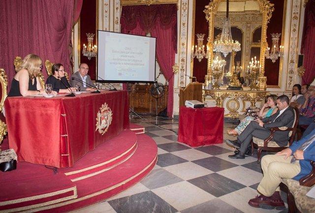 Presentación en Diputación del callejero digital