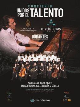 Orquesta Joven de Shanghai y Coro Meridianos ofrecen concierto en Sevilla