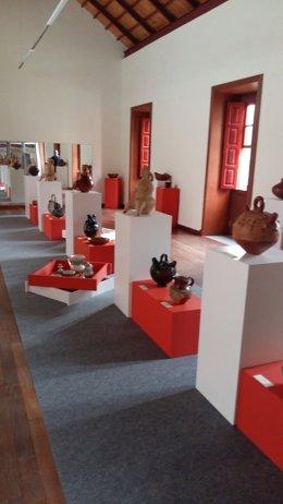 Exposición de artesanía en Vallehermoso