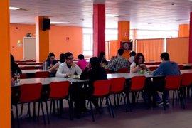 La residencia de estudiantes Ramón Pignatelli de la DPZ aloja a 270 jóvenes durante este curso