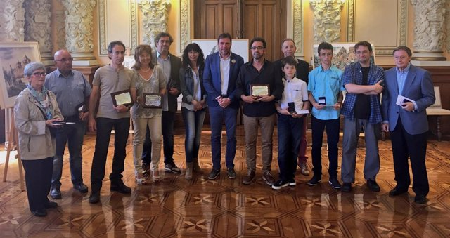 Entrega de premios del Concurso de Pintura Rápida de San Pedro Regalado