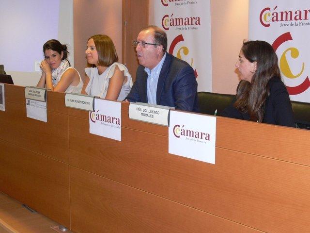 Diputación en la jornada de internacionalización en Jerez