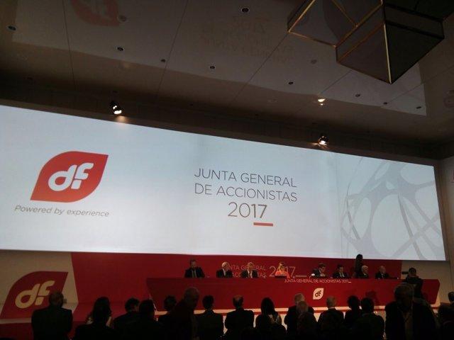 Junta General de Accionistas de Duro Felguera 2017