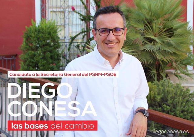 Candidatura Diego Conesa Secretaría General PSRM-PSOE