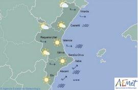"""La temperaturas superan los 35º en Alicante en una jornada con viento de poniente """"seco y recalentado"""" en la Comunitat"""
