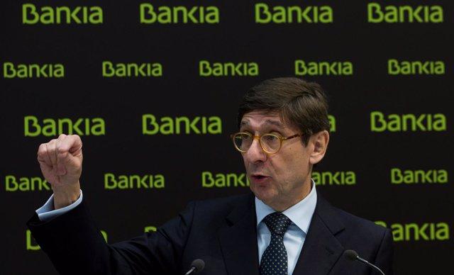 El presidente de Bankia Jose Ignacio Goirigolzarri