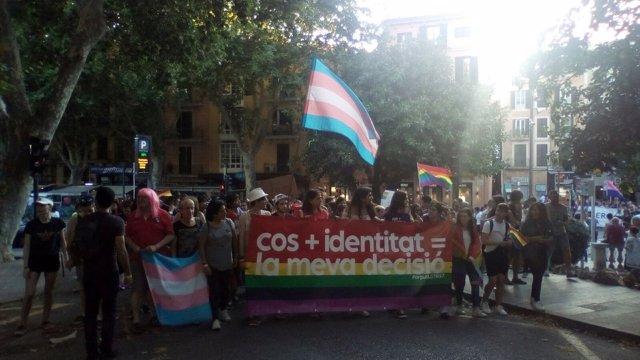 Manifestación LGTBI