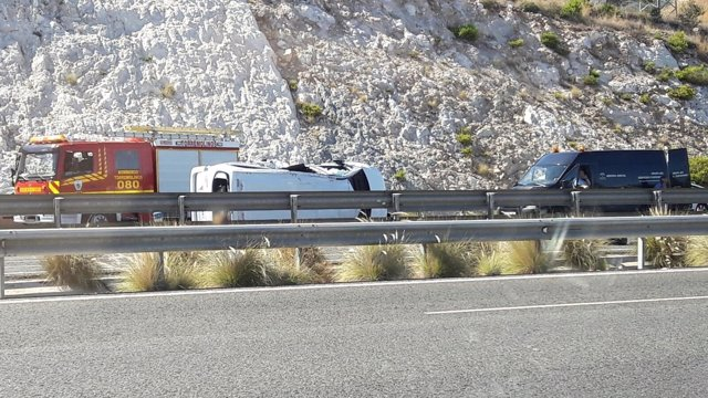 Accidente múltiple en torremolinos