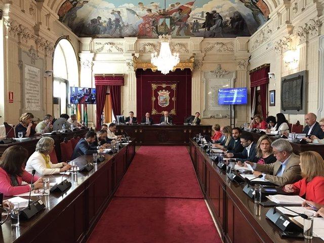 Pleno de Málaga mes de mayo