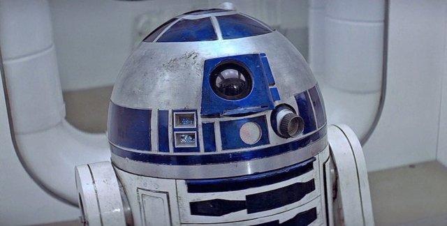 R2-D2 en Star Wars: Una nueva esperanza