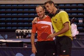 Robles y Dvorak, nuevos campeones de España de tenis de mesa