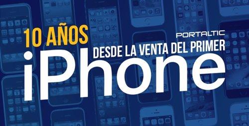 10 Años Desde La Venta Del Primer Iphone
