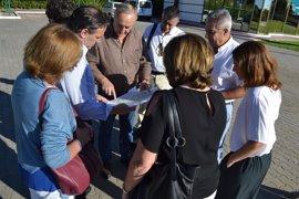 La Comisión Europea conoce la zona afectada por el incendio de Moguer, para cuya reforestación la Junta pedirá fondos