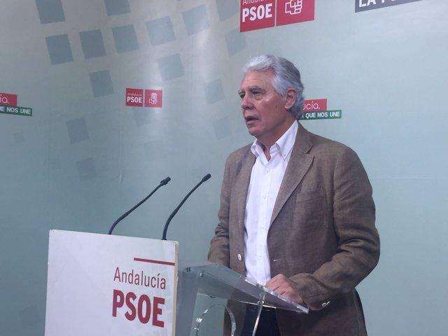 Francisco Menacho, senador del PSOE